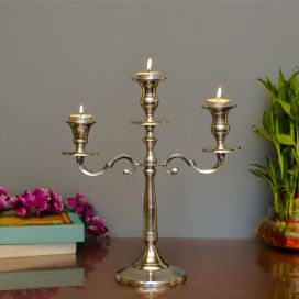 "Classic 12"" Candelabrum, 3 Arms"